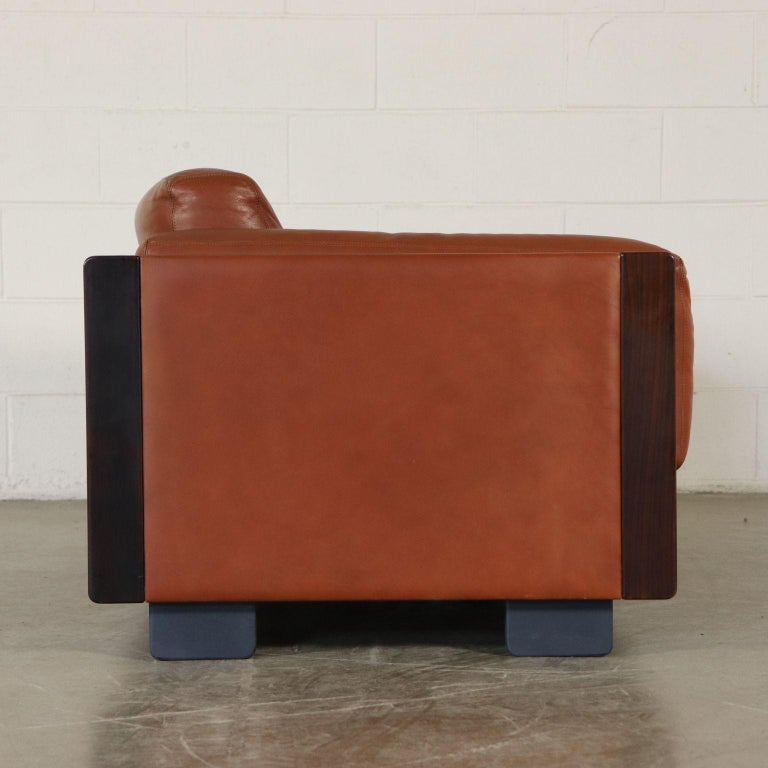 Mid-Century Modern Sofa by Afra & Tobia Scarpa Leather Vintage, Italy, 1960s-1970s For Sale