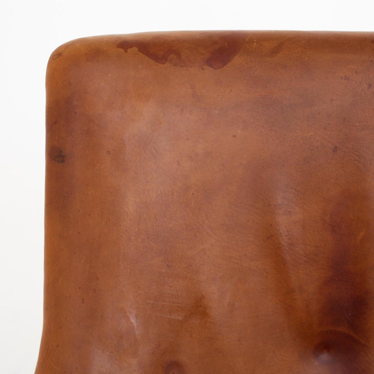 Patinated Sofa by Arne Vodder For Sale