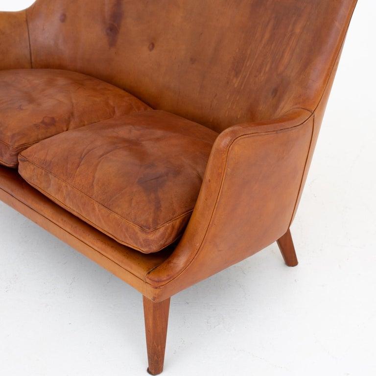 Sofa by Arne Vodder In Fair Condition For Sale In Copenhagen, DK
