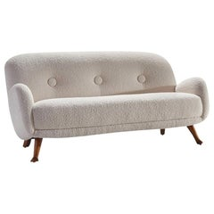 Sofa by Berga Möbler, Sweden, 1940s