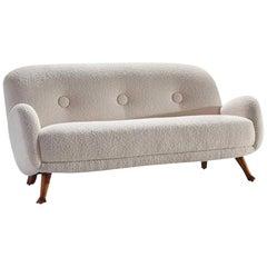 Sofa by Berga Möbler, Sweden, 1940s