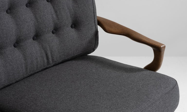 French Sofa by Guillerme & Chambron For Sale