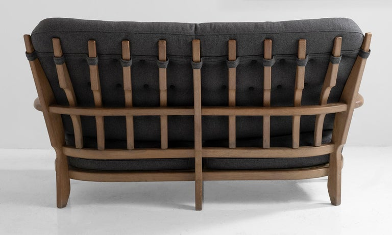 20th Century Sofa by Guillerme & Chambron For Sale
