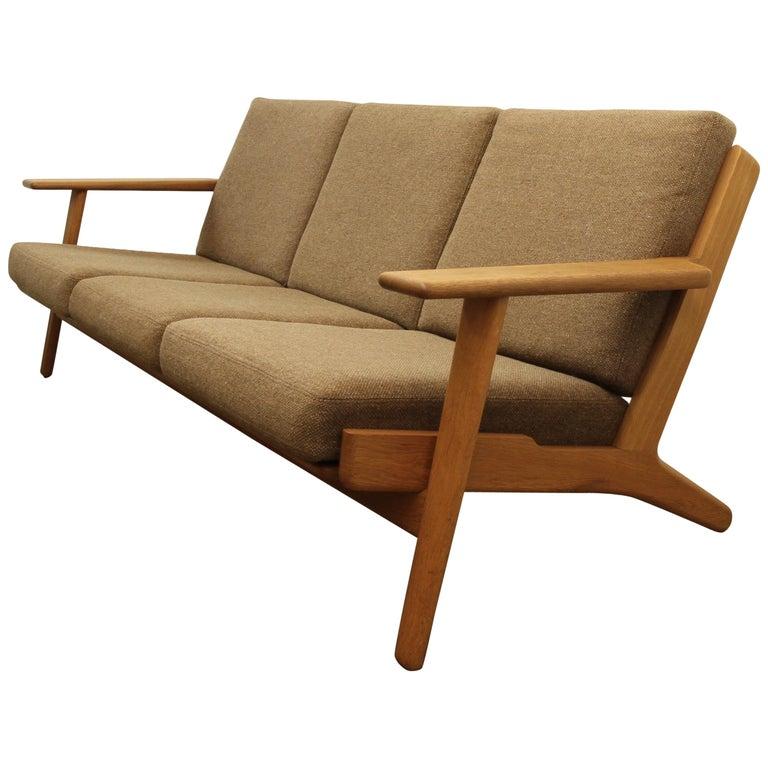 Sofa By Hans J Wegner Ge290 For Sale At 1stdibs