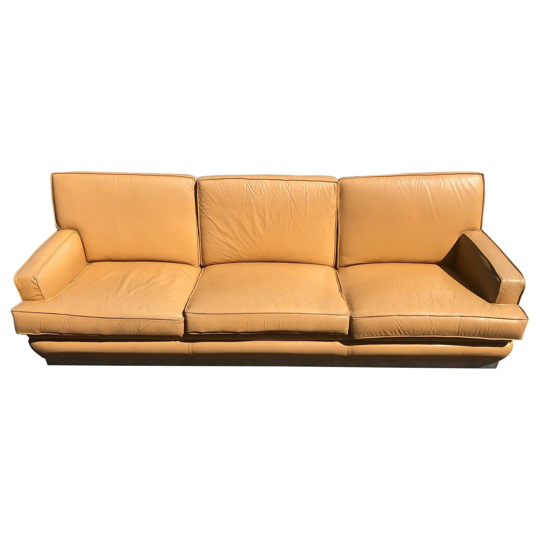 Sofa by Jacques Charpentier, circa 1970s