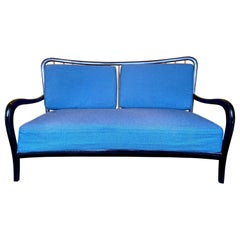 Sofa by Paolo Buffa Wood, Italy, 1950s