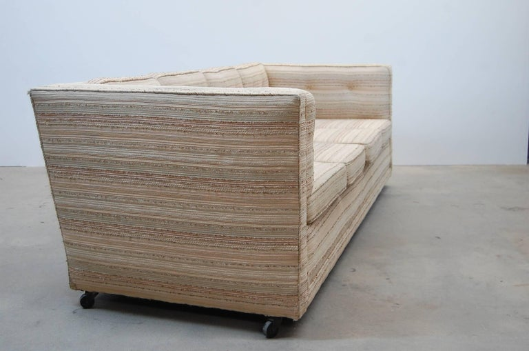 Fabric Sofa by William Pahlmann For Sale