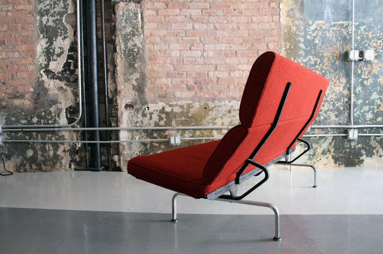 Mid-Century Modern Sofa Compact by Ray and Charles Eames for Herman Miller For Sale