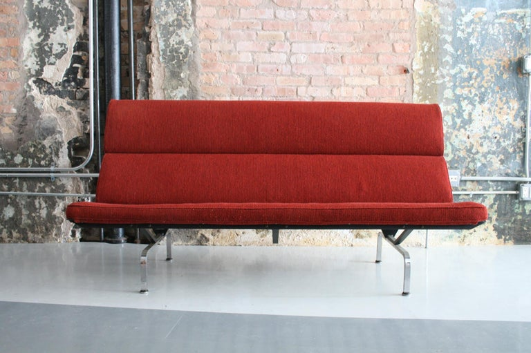 American Sofa Compact by Ray and Charles Eames for Herman Miller For Sale