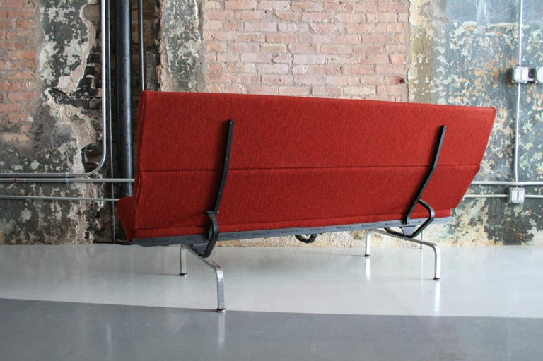 Steel Sofa Compact by Ray and Charles Eames for Herman Miller For Sale