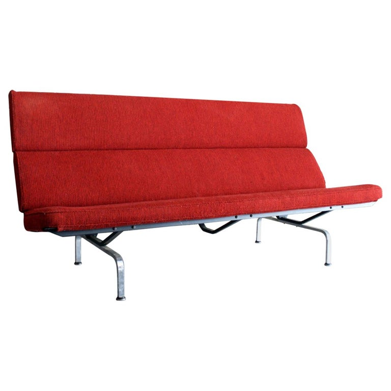 Sofa Compact by Ray and Charles Eames for Herman Miller For Sale