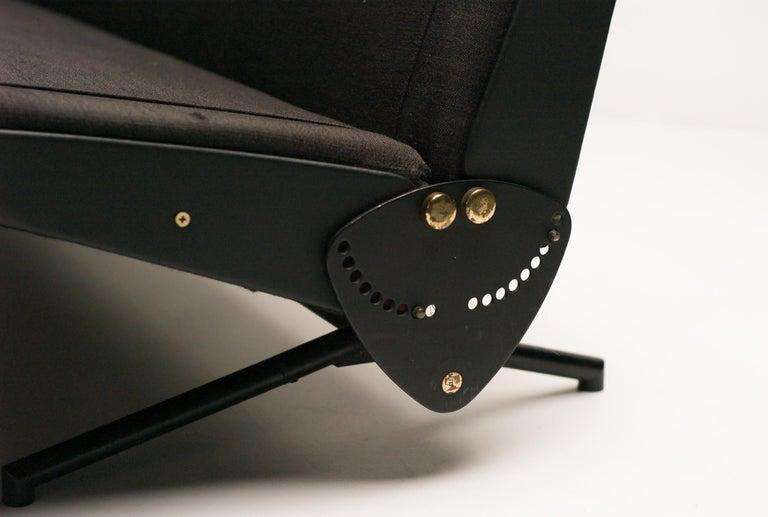 Mid-Century Modern Sofa Daybed D70 by Osvaldo Borsani for Tecno For Sale