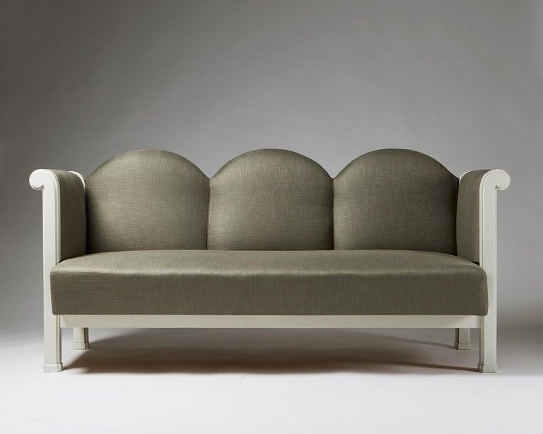 Finnish Sofa Designed by Eliel Saarinen, Finland, 1907 For Sale