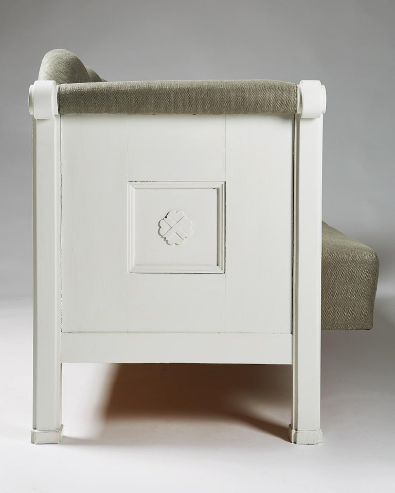 Sofa Designed by Eliel Saarinen, Finland, 1907 For Sale 1