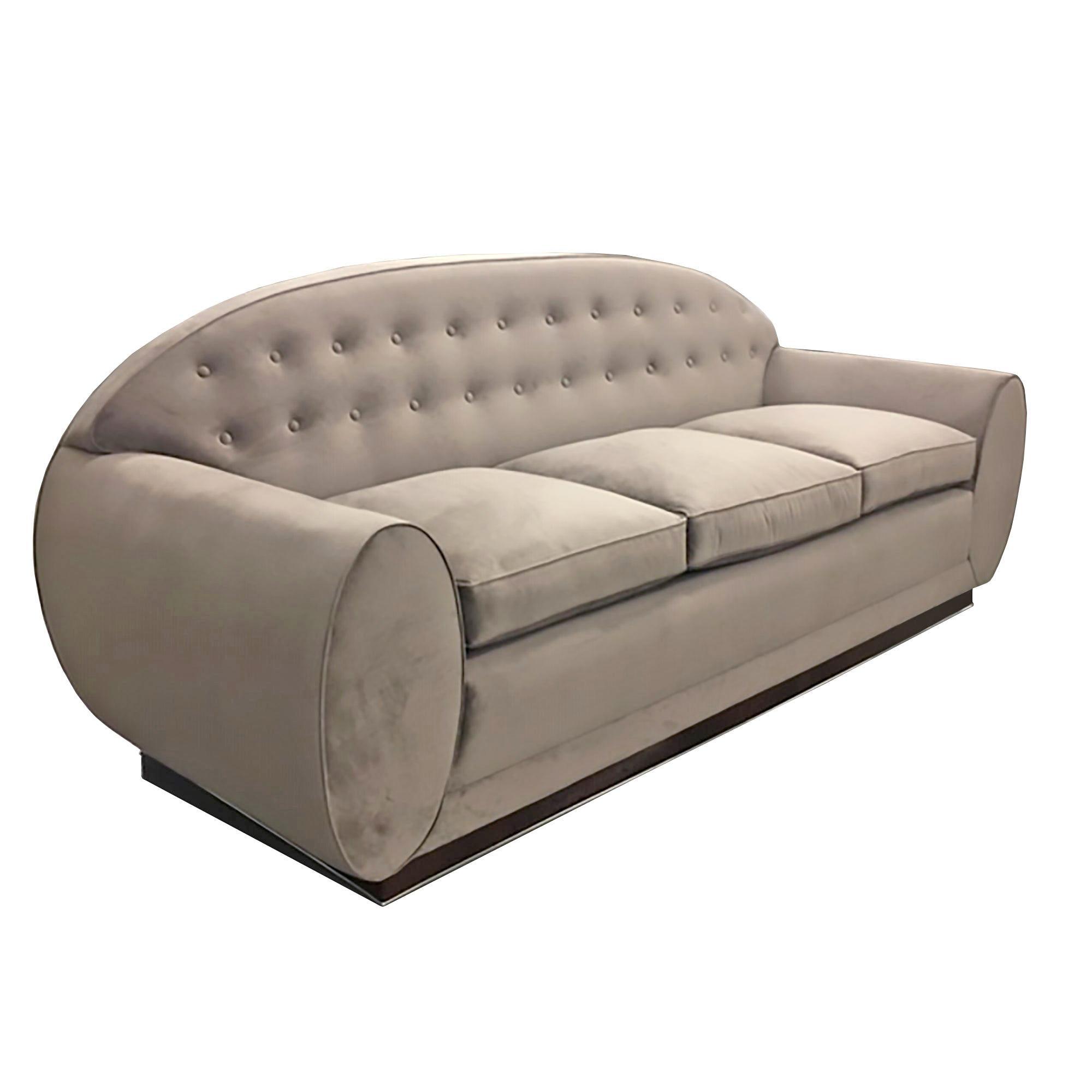 Sofa Designed by René Drouet