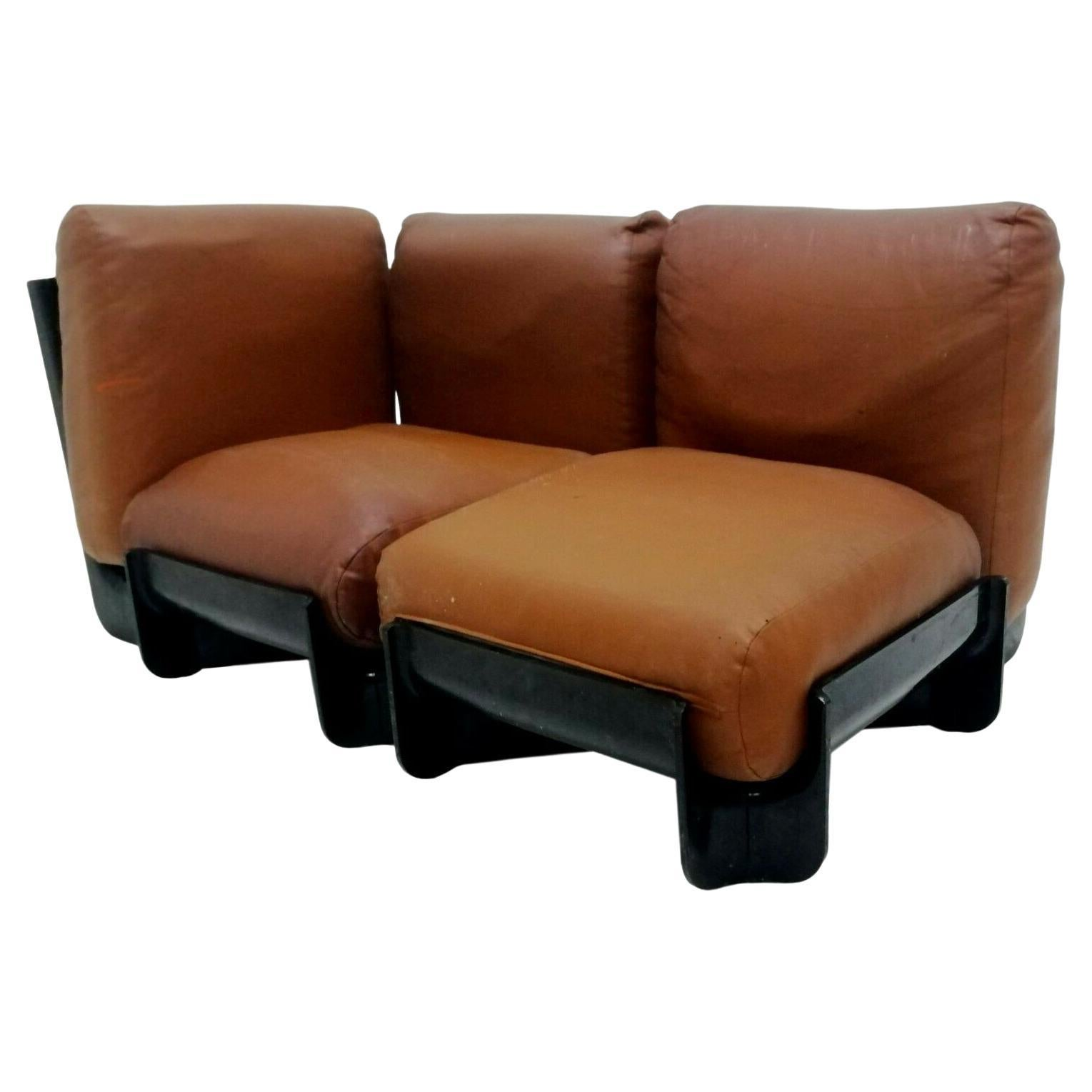 """Sofa """"Duna"""" design Emilio Guarnacci Felix Padovano Claudio Vagnoni for 1P, 1969"""