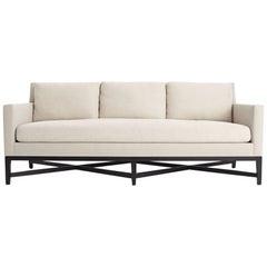 Sofa Exposed Wood Legs New Custom COM COL