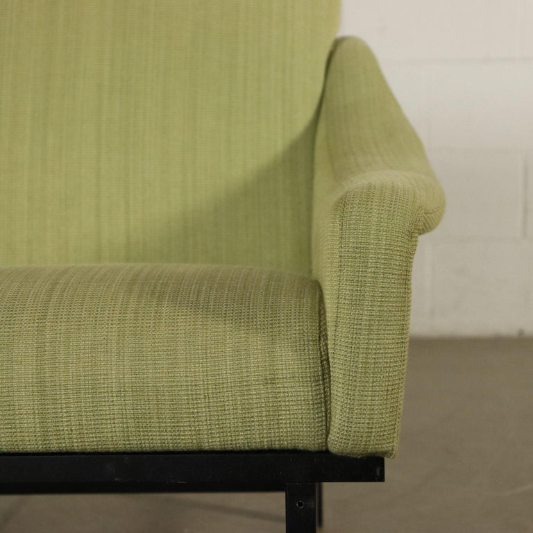 Other Sofa Foam Padding Metal Vintage, Italy, 1950s-1960s For Sale