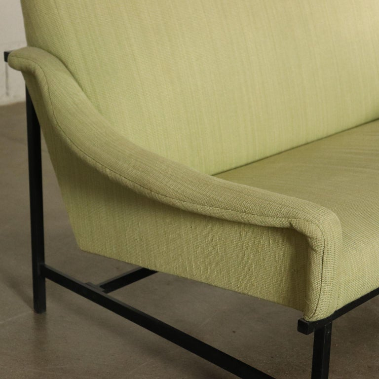Sofa Foam Padding Metal Vintage, Italy, 1950s-1960s In Good Condition For Sale In Milano, IT