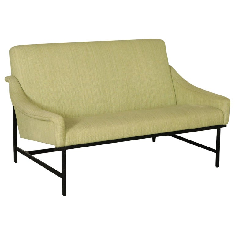 Sofa Foam Padding Metal Vintage, Italy, 1950s-1960s For Sale