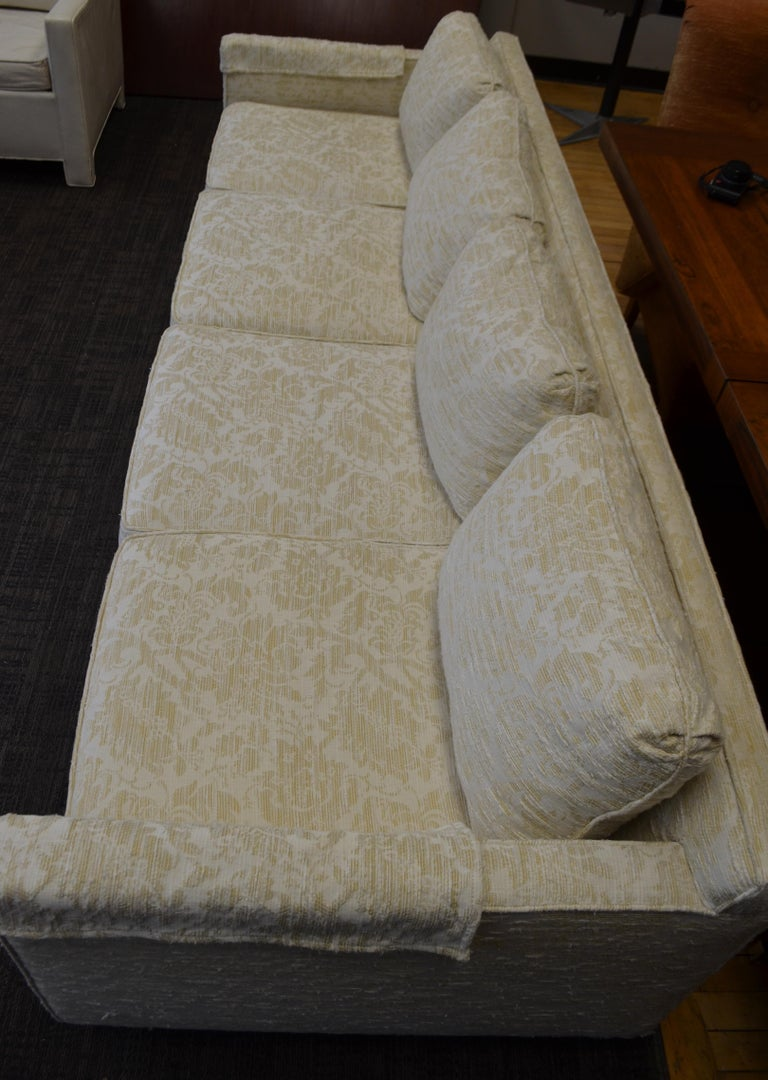 Sofa from Flair Midcentury in Blended Cotton Felt For Sale 14