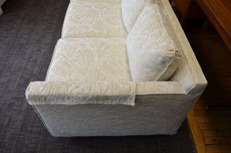 Sofa from Flair Midcentury in Blended Cotton Felt For Sale 3