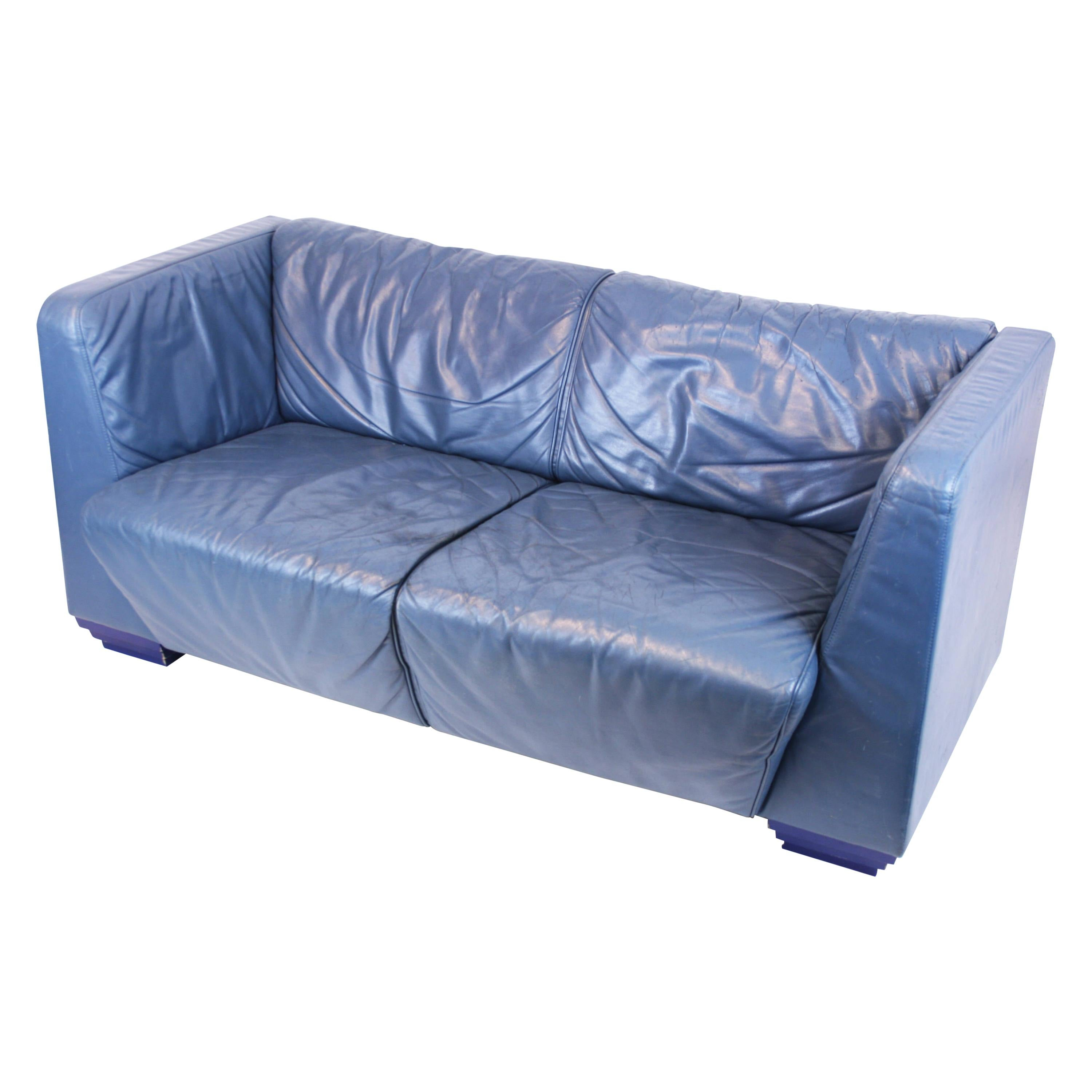 Sofa Geo by Wittmann by Jorgen Kastholm Leather Seating Collectors Item Austria