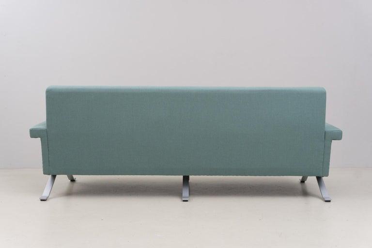 Sofa in Grey-Green, Model '875', Ico Parisi, 1960 For Sale 3