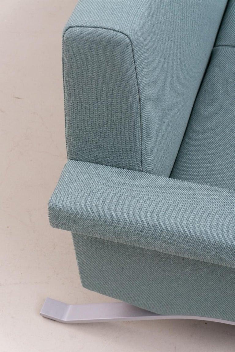 Sofa in Grey-Green, Model '875', Ico Parisi, 1960 For Sale 1