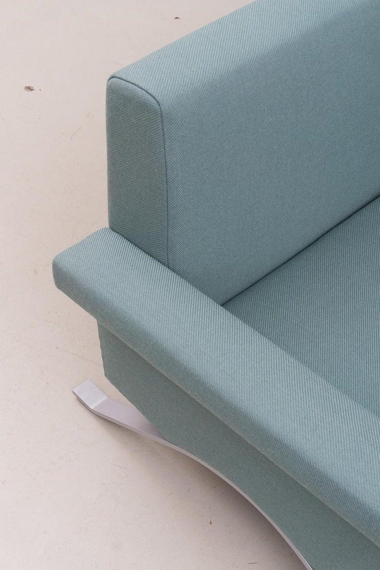 Sofa in Grey-Green, Model '875', Ico Parisi, 1960 For Sale 2
