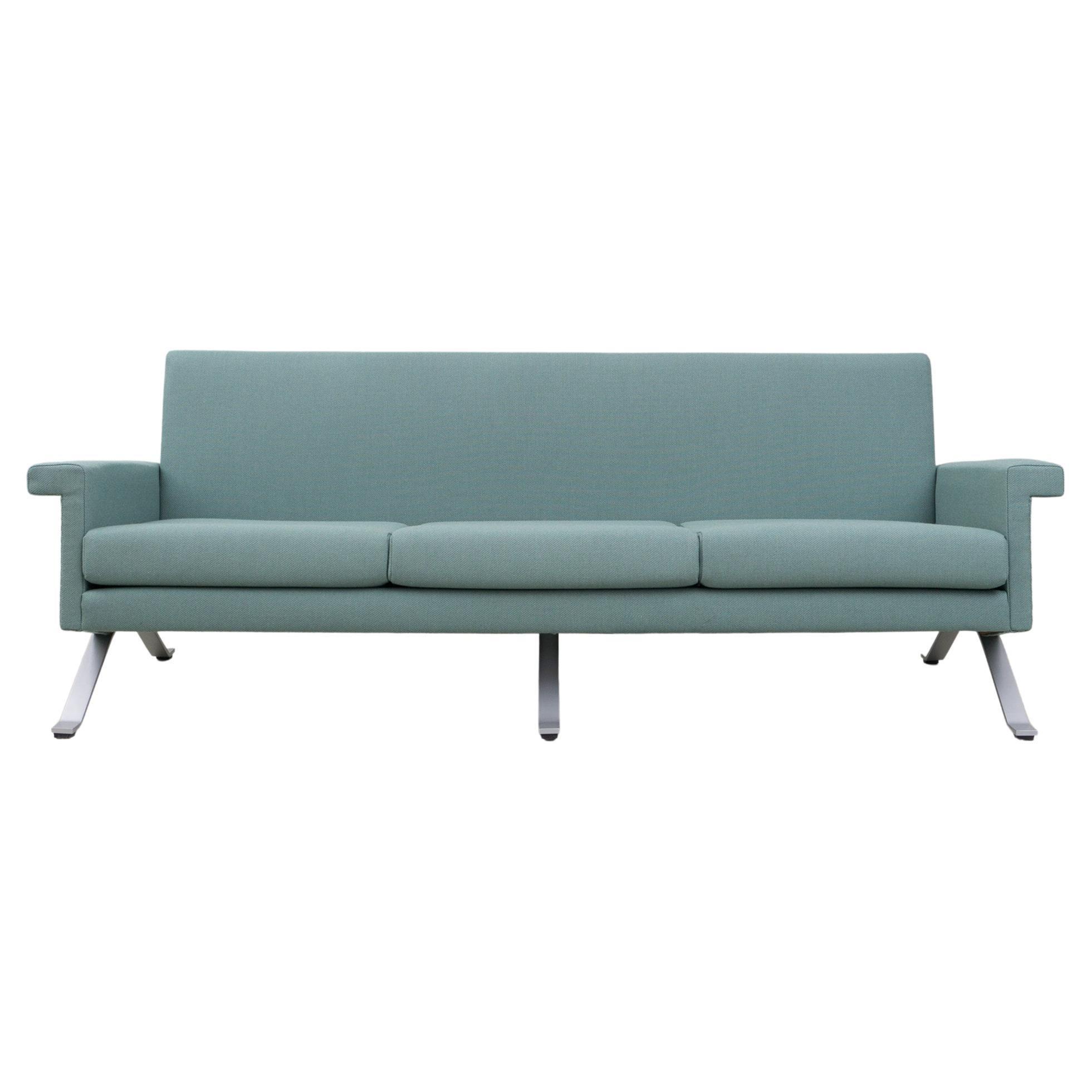 Sofa in Grey-Green, Model '875', Ico Parisi, 1960