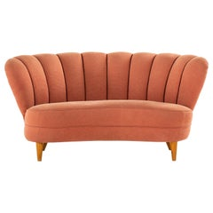 Sofa in the Manner of Otto Schulz Produced in Sweden