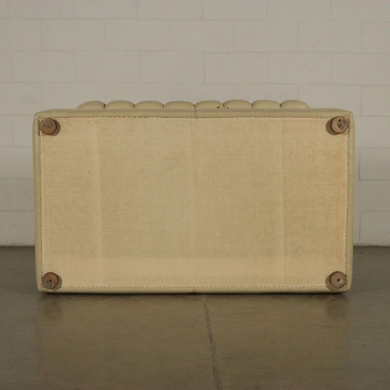 Sofa Leatherette Foam, Italy, 1960s-1970s For Sale 3