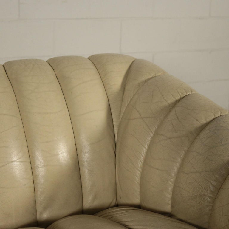 Other Sofa Leatherette Foam, Italy, 1960s-1970s For Sale