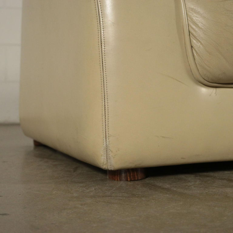 20th Century Sofa Leatherette Foam, Italy, 1960s-1970s For Sale