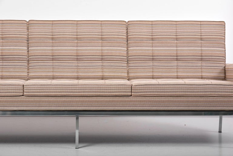 Fabric 67A Sofa by Florence Knoll for Knoll International  For Sale