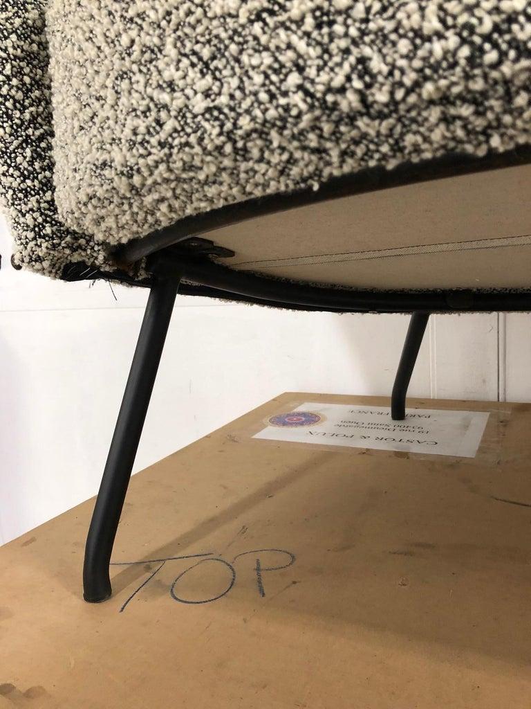 Metal Sofa Model 770 by Joseph-André Motte For Sale