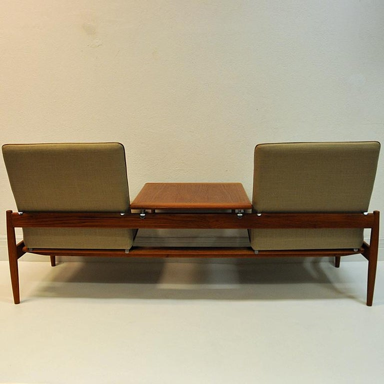 Midcentury Sofa module set Saga with table by Gunnar Sørlie 1958, Norway For Sale 3