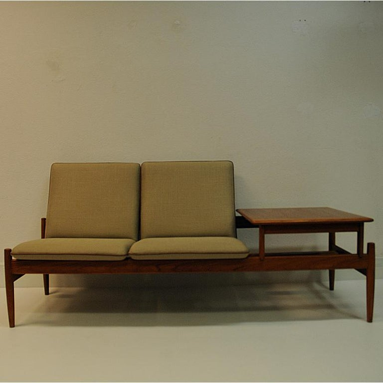 Norwegian Midcentury Sofa module set Saga with table by Gunnar Sørlie 1958, Norway For Sale