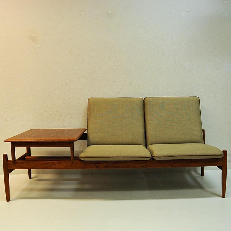 Mid-20th Century Midcentury Sofa module set Saga with table by Gunnar Sørlie 1958, Norway For Sale