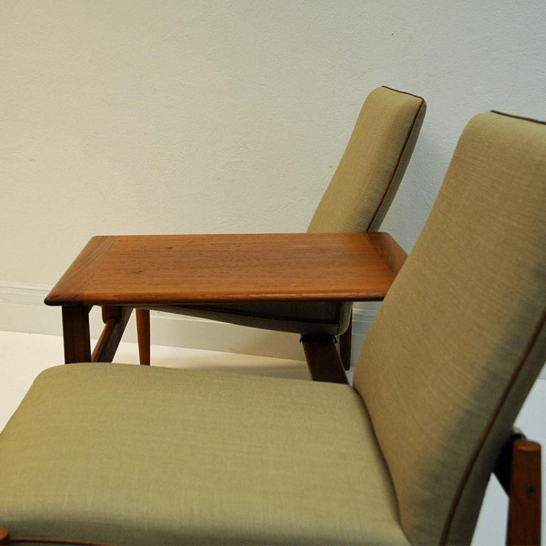 Midcentury Sofa module set Saga with table by Gunnar Sørlie 1958, Norway For Sale 1