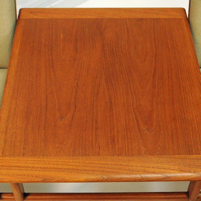 Midcentury Sofa module set Saga with table by Gunnar Sørlie 1958, Norway For Sale 2