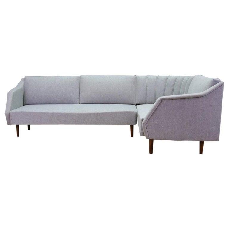 Sofa Retro Teak Danish Design Classic, 1960-1970 For Sale ...