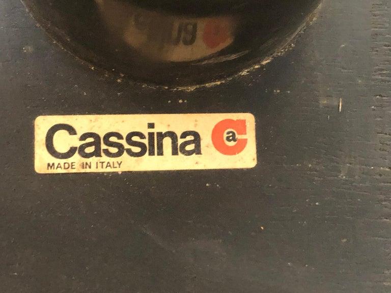 Sofa Soriana from Afra & Tobia Scarpa Edited by Cassina, 1970s Burnt Orange 3