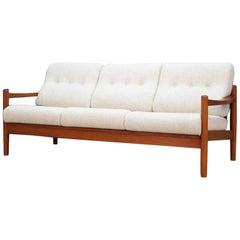 Sofa Teak Vintage 1960-1970 Danish Design