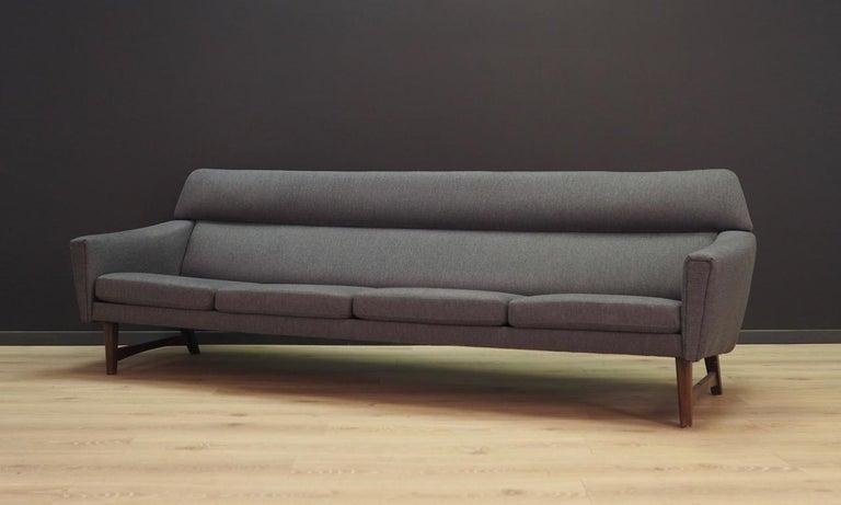 Mid-Century Modern Sofa Vintage, 1960-1970 Danish Design For Sale