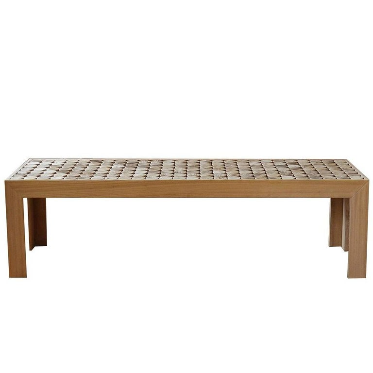 Sofia Wood Bench