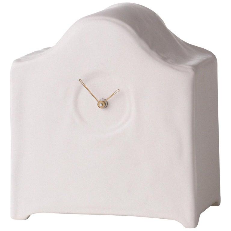 Soft Clock, Ceramics, White Ceramics For Sale
