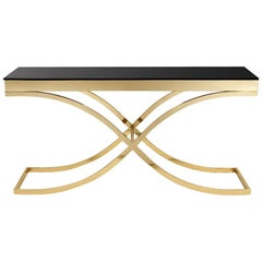 Soft Cross Console Table