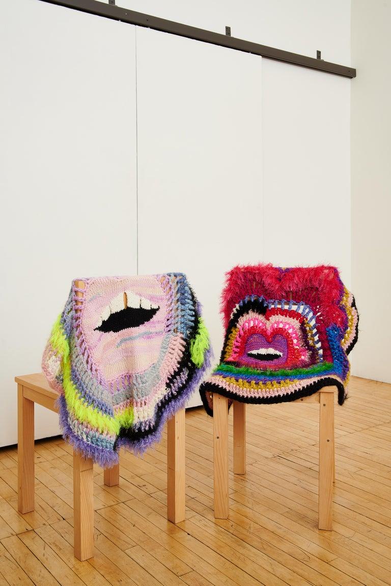 British Soft Lips 'Crazy Blanket' by Paris Essex